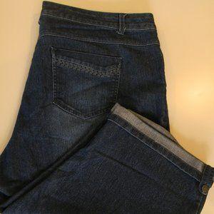 Gloria Vanderbilt size 18w Capri/Skimmer pants